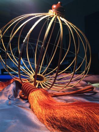 restauration structure et habillage de lanterne chinoise