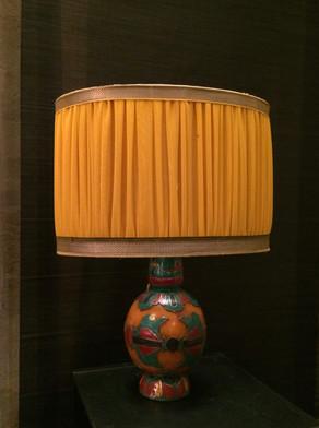 Lampe indienne cloisonné