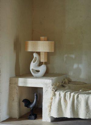 Lampe Azzura blanche