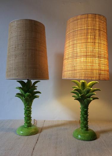 Lampes palmier de Jean Roger