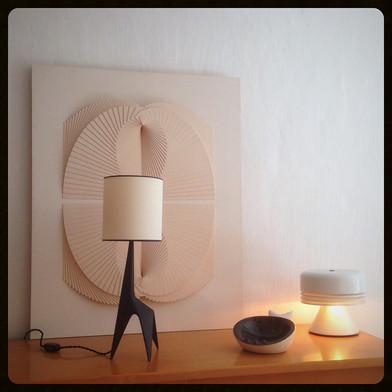 """Lampe """"girafe"""" non attribuée"""