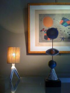 Lampe molaire de Roger Capron