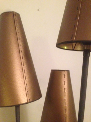 Toile enduite bronze