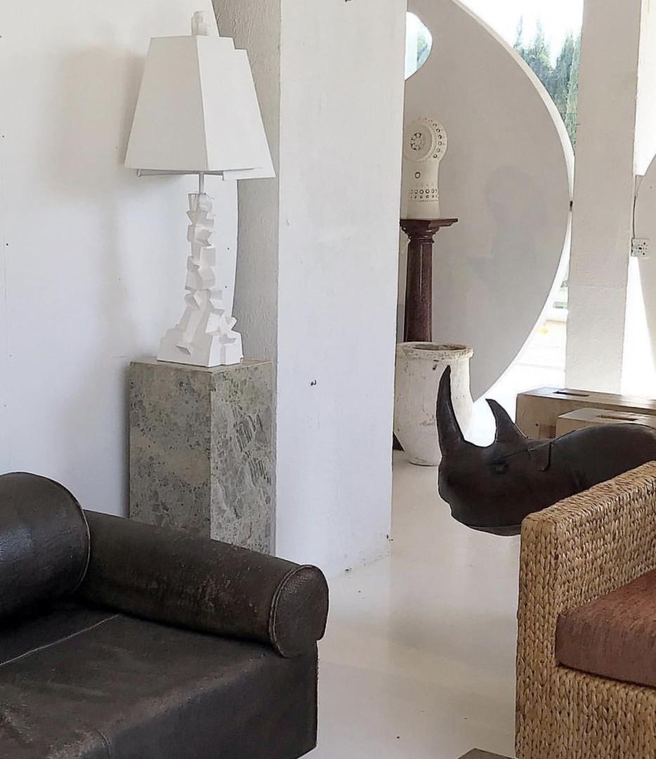Lampe chaos - Serge Castella Interiors