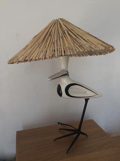Lampe oiseau de Roger Capron