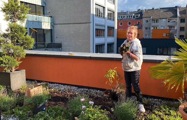 Gestaltung einer nachhaltigen Dachterrasse
