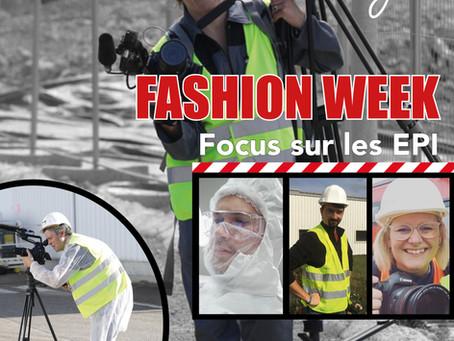 C'est la fashion week : tous en EPI !