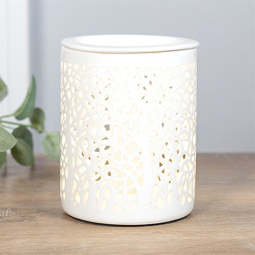 Tree Silhouette Electric Wax Melter