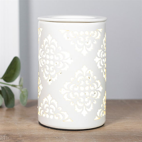 Damask Cut Out Electric Wax Melter