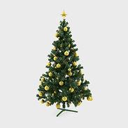 Decorated Christmas Tree in Queensland Australia