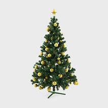 Dekorierter Weihnachtsbaum