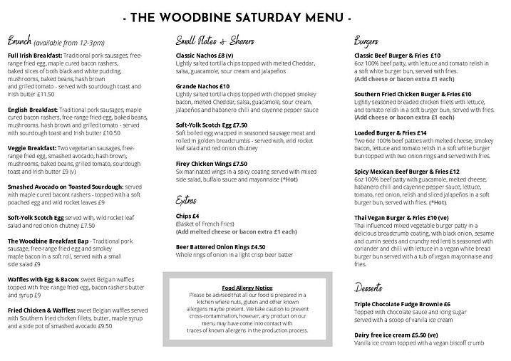 The Woodbine Pub Menu April 2021 (3) (1)