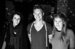Hartmut (Nadine), ich und Elena