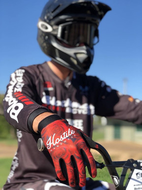 Andy Hughes with Rose Gloves