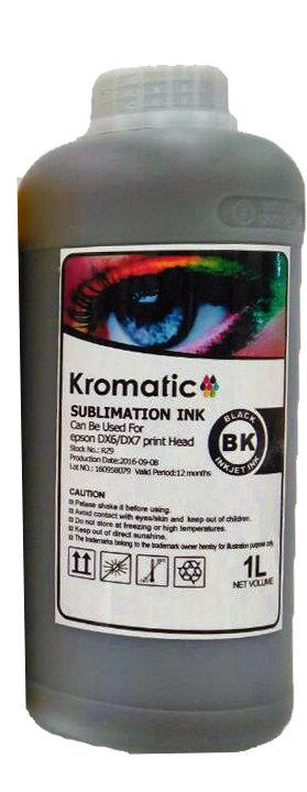 Tinta Kromatic Intense Black Serie 1900
