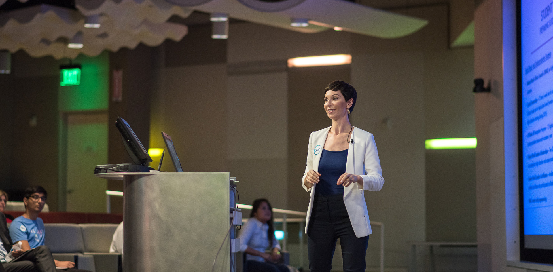 Invited as a featured speaker at a recent Schlumberger event.