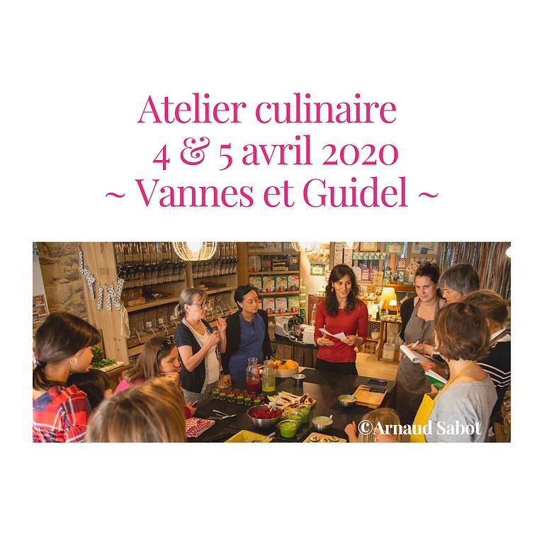 Ateliers de cuisine en Bretagne (Reportés)