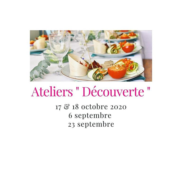 """Stage de cuisine crue - """"Découverte"""""""