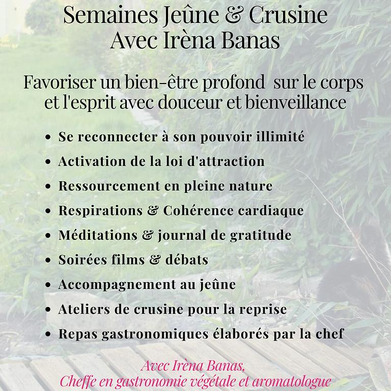 "Stage ""Reconnexion : Semaine Jeûne & Crusine"""