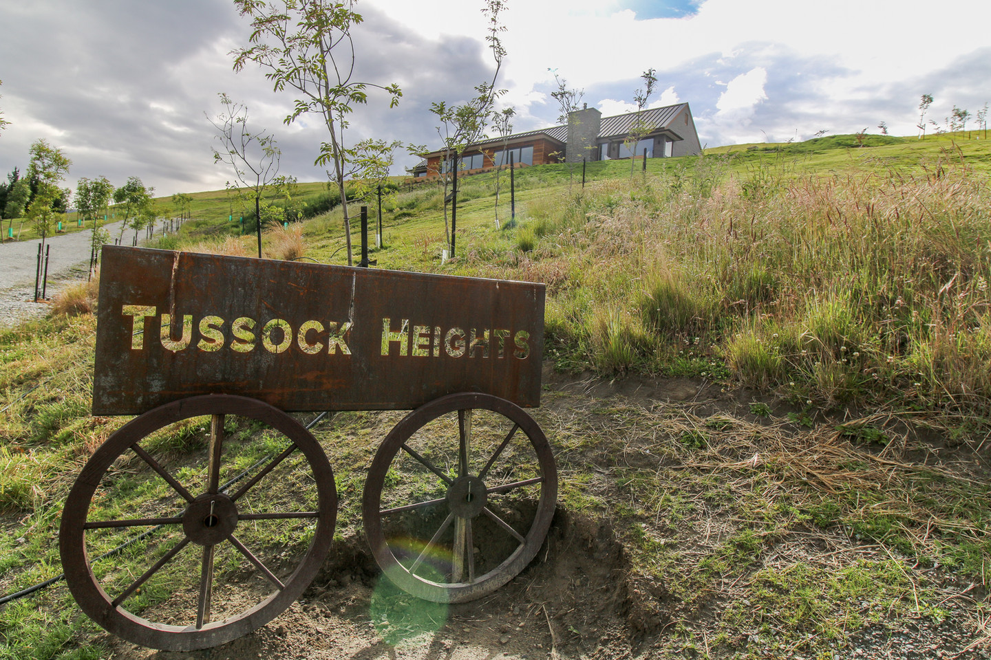 Entry to Tussock Heights