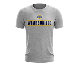 Crossover United supporter tee 1-light g