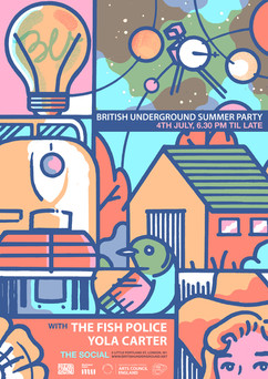 British Underground Summer Party 2018
