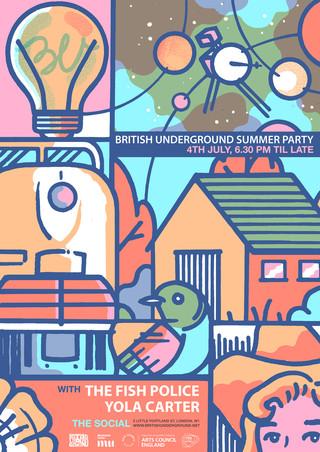 British Underground Summer Party 2018