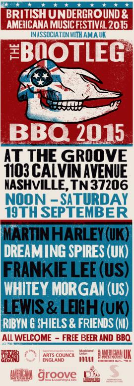 Americanafest The Bootleg BBQ 2015