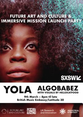 Future Art & Culture Immersive Mission Launch Party 2019
