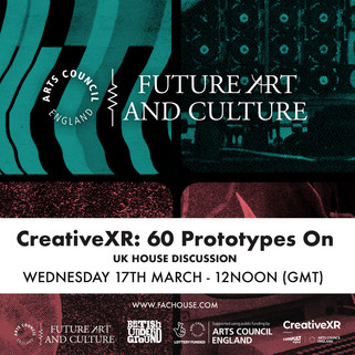Creative XR: 60 Prototypes On at SXSW Online 2021