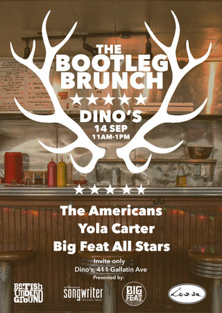 The Bootleg Brunch at Dino's
