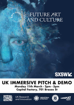 Future Art & Culture UK Immersive & Demo 2019