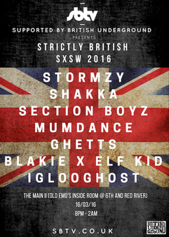 SXSW Strickly British 2016
