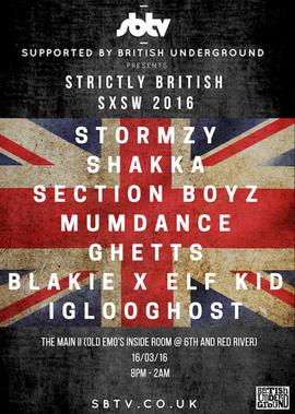 SXSW Strickly British 2016