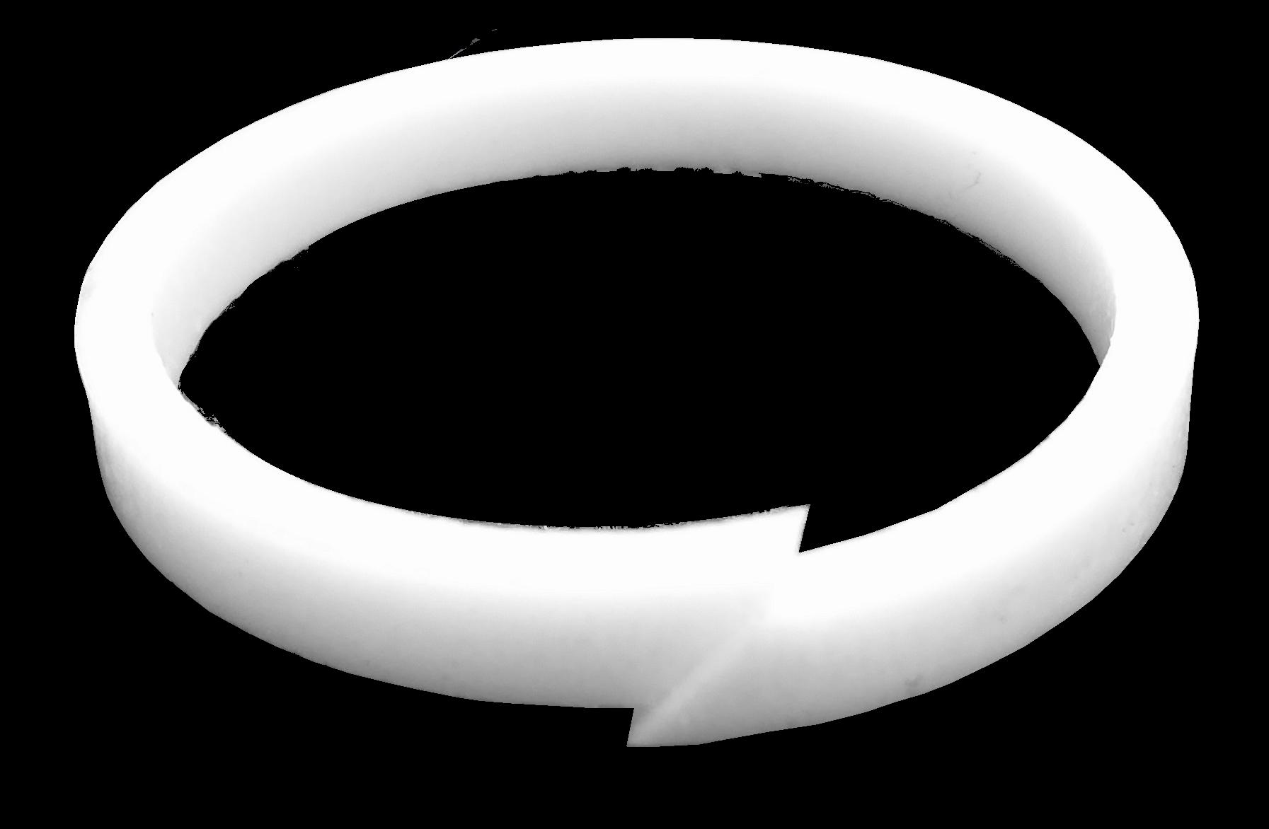 anel de teflon (todas as outras)