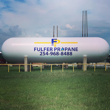 Fulfer Propane Storage Tank