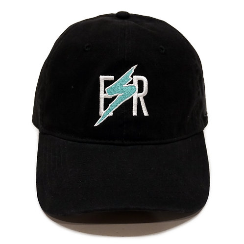 BOLT SPORT STRAPBACK HAT | BLACK/TEAL