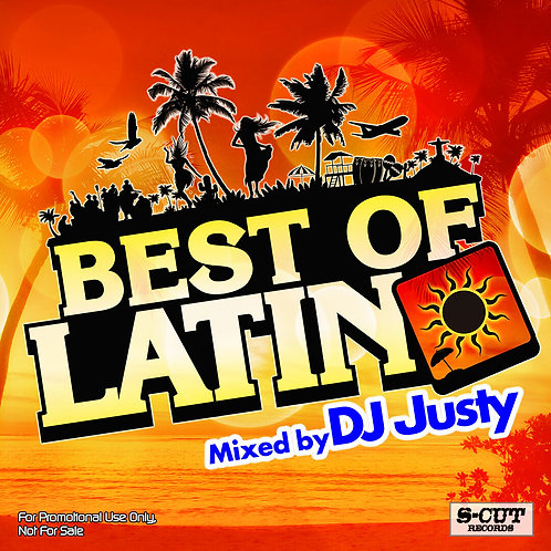 DJ Justy Best Of Latin MIXCD