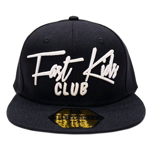 FAST KIDS CLUB SNAPBACK HAT | BLACK
