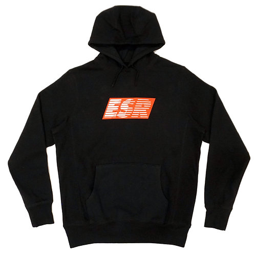 Pull Over Hoodie Turbo Speedlines | Black