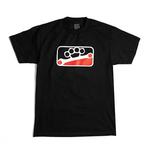 Knuckle League T-Shirt | Black