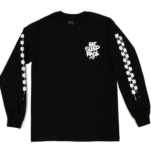 Drip Long Sleeve Shirt | Black