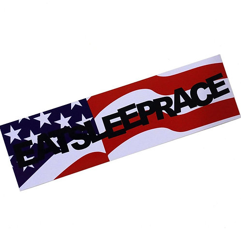 ESR Flag Bumper Sticker   RWB