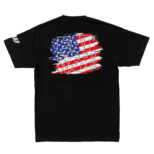 Joe Graf Jr Edt Flag T-Shirt | Black