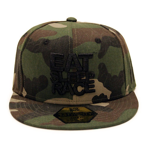 LOGO TEAM SNAPBACK HAT | FULL CAMO