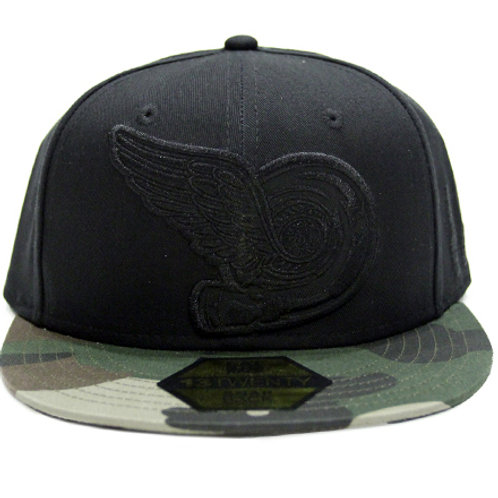 TURBO WING SNAPBACK HAT | CAMO