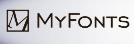 MyFonts logotipo anterior