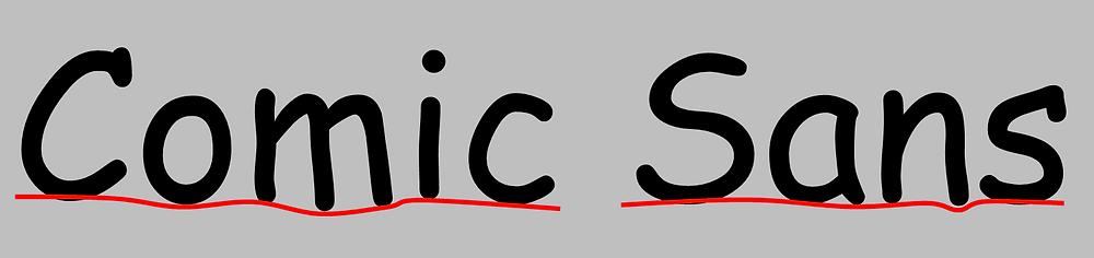 Comic Sans Dirección