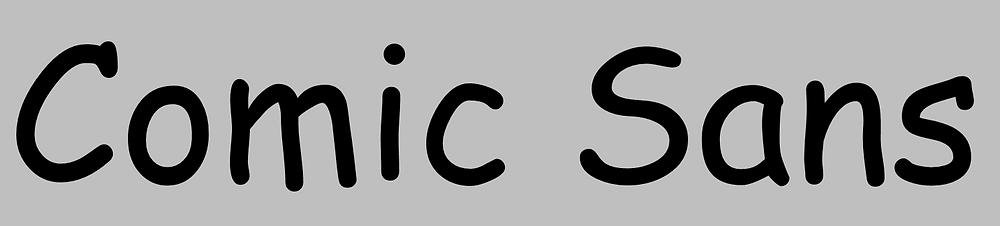 Comic Sans Presión, Continuidad, Velocidad