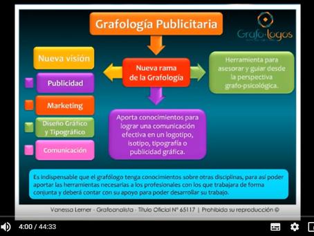 1º Seminario Online | Grafología Publicitaria